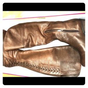 Vince Camuto leather riding boots